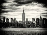 Landscape View Manhattan with the Empire State Building at Sunset - New York City - United States Photographic Print by Philippe Hugonnard