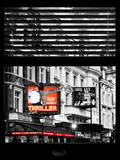 Window View of Thriller Live Lyric Theatre London - Celebration of Michael Jackson - UK - England Photographic Print by Philippe Hugonnard