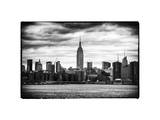 Landscape View Manhattan with the Empire State Building - New York City - United States Photographic Print by Philippe Hugonnard