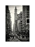 Urban Street Scene in Broadway - Canal Street - Manhattan - New York City - United States Photographic Print by Philippe Hugonnard