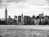 Landscape View Manhattan with the Empire State Building and Chrysler Building - NYC Photographic Print by Philippe Hugonnard