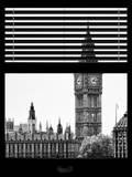 Window View of Big Ben - City of London - UK - England - United Kingdom - Europe Photographic Print by Philippe Hugonnard
