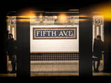 Instants of NY Series - Moment of Life in NYC Subway Station to the Fifth Avenue - Manhattan Photographic Print by Philippe Hugonnard