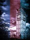 Big Ben - City of London - UK - England - United Kingdom - Europe - MultiColor-Tone Photography Photographic Print by Philippe Hugonnard