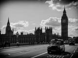 Houses of Parliament and Westminster Bridge - Big Ben - City of London - England - United Kingdom Photographic Print by Philippe Hugonnard