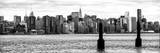 Panoramic Landscape View Manhattan with Top of The MetLife Building and Chrysler Building Photographic Print by Philippe Hugonnard