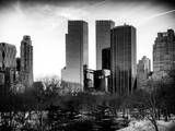 View of Skyscrapers from Central Park in Winter - Manhattan - New York City - United States - USA Photographic Print by Philippe Hugonnard