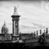 The Pont Alexandre III and the Invalides Building - Paris - Ile de France - France - Europe Photographic Print by Philippe Hugonnard