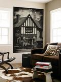 Wall Mural - UK Cottage - The Blacksmiths Arms - St Albans - Hertfordshire - London - UK - England Mural por Philippe Hugonnard