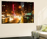 Wall Mural - Manhattan at Night with The Radio City Music Hall - New York - USA Wall Mural by Philippe Hugonnard