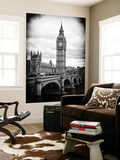 Wall Mural - Big Ben from across the Westminster Bridge - London - UK - England - United Kingdom Art Mural par Philippe Hugonnard