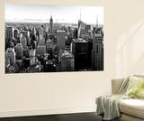 Wall Mural - Manhattan Skyline with the Empire State Building - New York Premium-Fototapete von Philippe Hugonnard