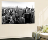 Wall Mural - Manhattan Skyline with the Empire State Building - New York Wall Mural by Philippe Hugonnard