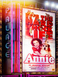 Instants of NY Series - Billboard of Annie The Musical at the Palace Theatre on Broadway Photographic Print by Philippe Hugonnard