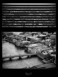 Window View of City of London - Architecture & Buildings - River Thames - UK - England Photographic Print by Philippe Hugonnard