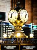 Grand Central Terminal's Four-Sided Seth Thomas Clock - Manhattan - New York Photographic Print by Philippe Hugonnard