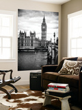 Wall Mural - Palace of Westminster and Big Ben - Westminster Bridge - London - England Reproduction murale par Philippe Hugonnard