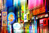 Urban Stretch Series - Advertising Signs Times Square - Manhattan - New York Photographic Print by Philippe Hugonnard