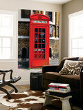 Wall Mural - Red Phone Booth in London with the Big Ben - City of London - UK - England Wall Mural by Philippe Hugonnard