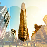 Love NY Series - The Flatiron Building - Manhattan - New York - USA Photographic Print by Philippe Hugonnard