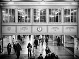 Interior Corridors with an Original Skylight in the Grand Central Terminal - Manhattan - New York Photographic Print by Philippe Hugonnard