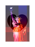 Love NY Series - The Statue of Liberty - Manhattan - New York - USA Photographic Print by Philippe Hugonnard