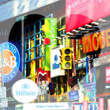 Love NY Series - Billboards in Times Square - Manhattan - New York - USA Photographic Print by Philippe Hugonnard