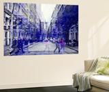 Wall Mural - Urban Vibration Series - Soho and 1WTC - Manhattan - New York - USA Wall Mural by Philippe Hugonnard