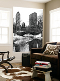 Wall Mural - Snowy Gapstow Bridge of Central Park - Manhattan - New York - USA Wall Mural by Philippe Hugonnard