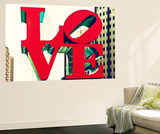 Wall Mural - Love Sign - USA Wall Mural by Philippe Hugonnard