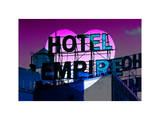 Love NY Series - Hotel Empire Sign - Manhattan - New York City - USA Photographic Print by Philippe Hugonnard