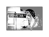 Love NY Series - Manhattan Pin-UP - New York - USA Photographic Print by Philippe Hugonnard