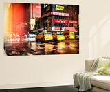 Wall Mural - Yellow Cabs in Manhattan - New York City - USA Wall Mural by Philippe Hugonnard