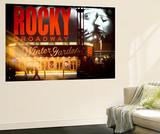 Wall Mural - Rocky Broadway Musical - Winter Garden Theatre - Manhattan - New York Wall Mural by Philippe Hugonnard