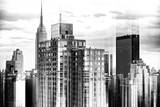 Urban Stretch Series - Cityscape of Manhattan with the Empire State Building - NYC Photographic Print by Philippe Hugonnard