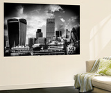 Wall Mural - The Walkie-Talkie and The Gherkin Buildings - London - UK Wall Mural by Philippe Hugonnard