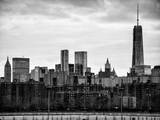 Landscape View Manhattan with the One World Trade Center (1WTC) at Sunset - NYC Photographic Print by Philippe Hugonnard