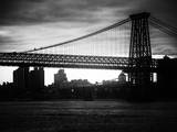 The Williamsburg Bridge at Nightfall - Lower East Side of Manhattan - New York City Photographic Print by Philippe Hugonnard