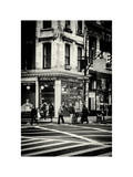 Urban Scene in Broadway - Manhattan - New York City - United States Photographic Print by Philippe Hugonnard