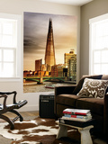 Wall Mural - The Shard Building and The River Thames - London - UK - England - United Kingdom Wall Mural by Philippe Hugonnard