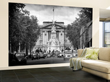 Wall Mural - Buckingham Palace and Black Cabs - London - UK - England - United Kingdom - Europe Wall Mural – Large by Philippe Hugonnard