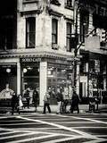 Urban Scene in Broadway - NYC Crosswalk - Manhattan - New York City - United States Photographic Print by Philippe Hugonnard