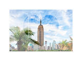 Love NY Series - The Empire State Building - Manhattan - New York - USA Photographic Print by Philippe Hugonnard