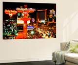 Wall Mural - The Strip - Las Vegas at Night - Nevada - USA Wall Mural by Philippe Hugonnard