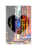 Love NY Series - Times Square at Night - Manhattan - New York - USA Photographic Print by Philippe Hugonnard