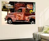 Philippe Hugonnard - Wall Mural - Truck of Route 66 - Gas Station - Arizona - USA - Duvar Resmi