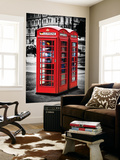 Wall Mural - Phone Booths - UK Red Phone - London - UK - England - United Kingdom - Europe Wall Mural by Philippe Hugonnard