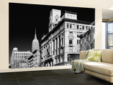 Wall Mural - Urban View of Manhattan with the Empire State Building - New York - USA Wall Mural – Large by Philippe Hugonnard