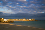 St Ives Porthminster Beach in Foreground Photographic Print