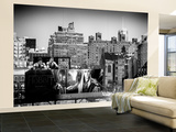 Wall Mural - Urban View of Chelsea - Manhattan - New York - USA - B&W Photography Wall Mural – Large by Philippe Hugonnard